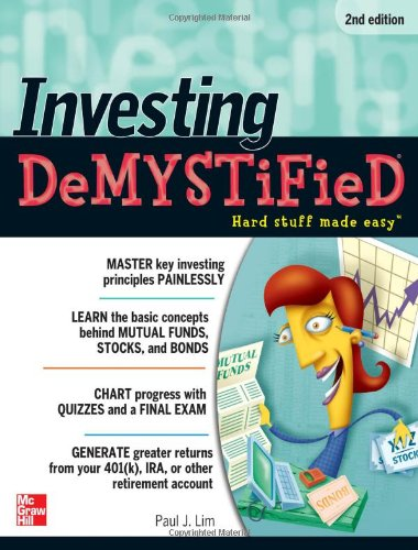 Investing Demystified 9780071749121