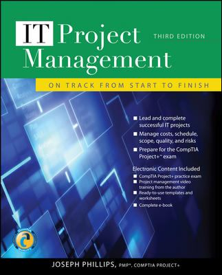 IT Project Management: On Track from Start to Finish [With CDROM] 9780071700436