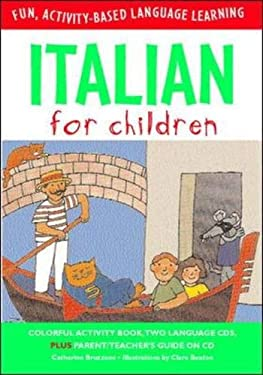 Italian for Children [With Book] 9780071407731