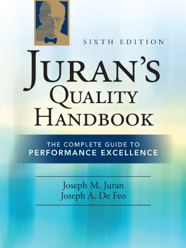 Juran's Quality Handbook: The Complete Guide to Performance Excellence 9780071629737