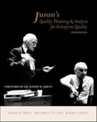 Juran's Quality Planning and Analysis for Enterprise Quality 9780072966626