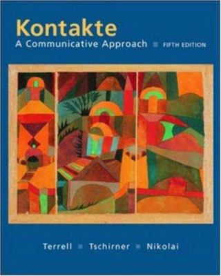 Kontakte: A Communicative Approach Student Edition with Online Learning Center Bind-In Card 9780072956436