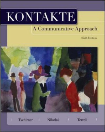 Kontakte: A Communicative Approach 9780073535333