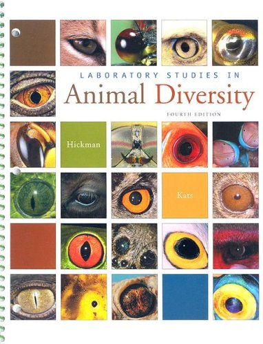 Laboratory Studies in Animal Diversity 9780073260983