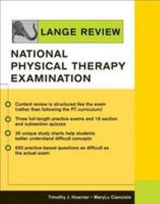 Lange Review National Physical Therapy Examination By Timothy J