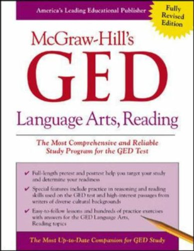 Language Arts, Reading: The Most Comprehensive and Reliable Study Program for the GED Test 9780071407106