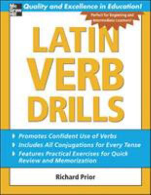 Latin Verb Drills 9780071453950