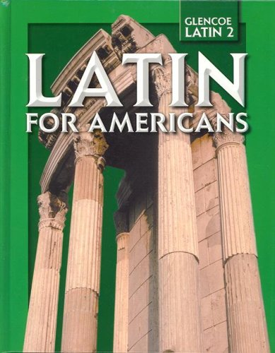 Latin for Americans, Level 2, Student Edition 9780078742538