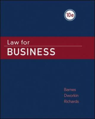 Law for Business 9780073524931