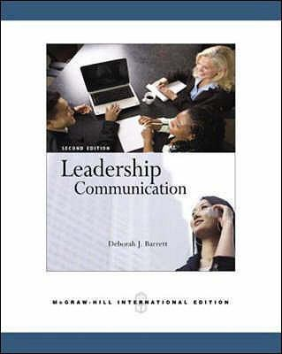 Leadership Communication 9780071259149