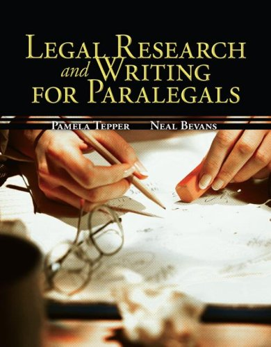 Legal Research and Writing for Paralegals 9780073524627