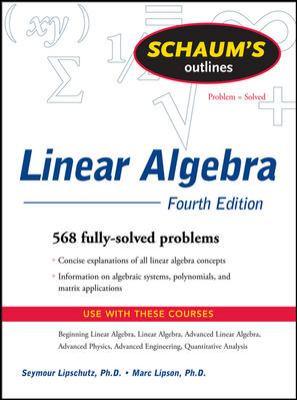 Linear Algebra - 4th Edition