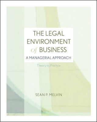 Loose-Leaf: The Legal Environment of Business with Connect Plus 9780077971090