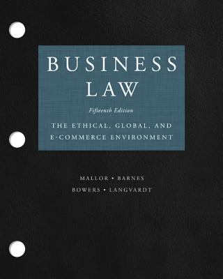 Loose-Leaf for Business Law 9780077419455