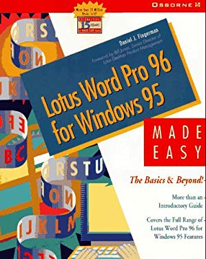 Lotus Word Pro 96 for Windows 95 Made Easy 9780078821486