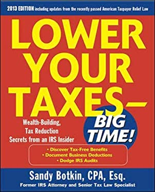 Lower Your Taxes Big Time 2013-2014 5/E 9780071803403