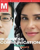 M: Business Communications W/Premium Content Card and Student Prep Cards 277461