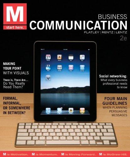 M: Business Communication 9780073403168