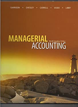 MANAGERIAL ACCT. >CANADIAN< 9780070401891