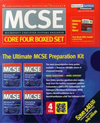 MCSE Certification Press Core Four Boxed Set 9780078825682