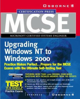 MCSE Migrating from Microsoft Windows NT 4.0 to Microsoft Windows 2000 Study Guide (Exam 70-222) (Book/CD) [With CDROM] 9780072127119
