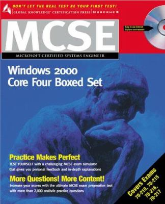 MCSE Windows 2000 Core Four Boxed Set (Exams 70-210, 70-215, 70-216, 70-217 [With CDROM] 9780072126150