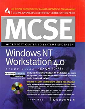 MCSE Windows NT Workstation 4 [With Contains 1,000 Practice Exam Questions...] 9780078824920