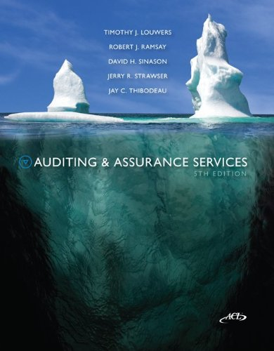 MP Auditing & Assurance Service W/ ACL CD 9780077520168
