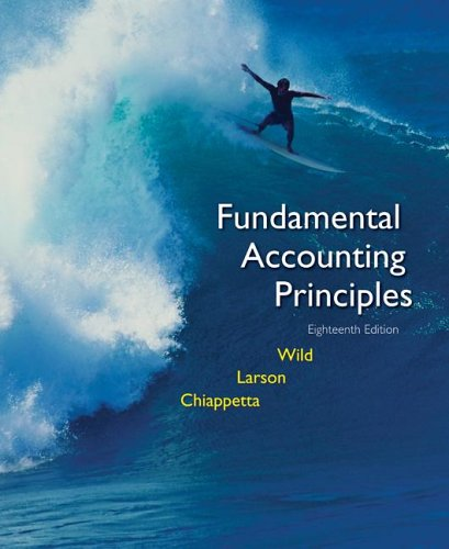 MP Fundamental Accounting Principles Vol 1 (CHS 1-12) with Circuit City Annual Report 9780073286617
