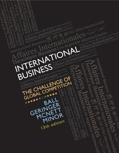 MP International Business with Cesim Global Challenge Simulation Access Card 9780077606121