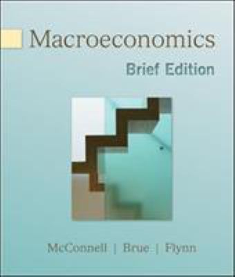 Macroeconomics, Brief Edition 9780077230975