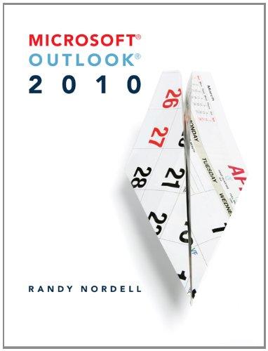 Microsoft Outlook 2010 9780073519289