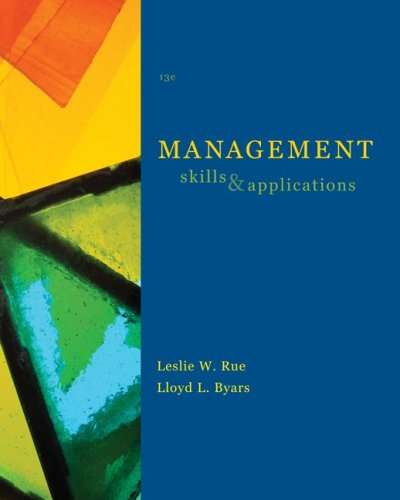 Management: Skills and Application 9780073381503