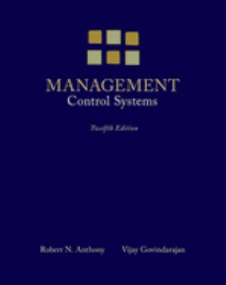 Management Control Systems 9780073100890