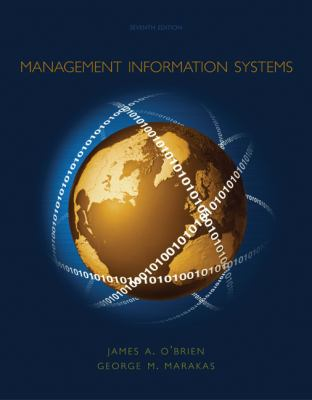 Management Information Systems 9780072935882