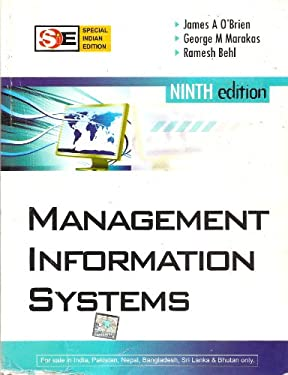 Management Information Systems (Special Indian Edition) Ninth Edition