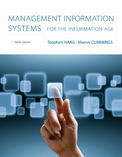 Management Information Systems for the Information Age 9780073376851