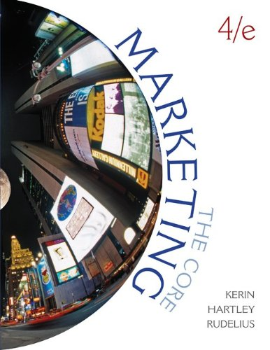 Marketing: The Core 9780078112065