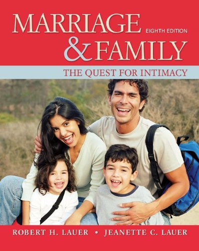 Marriage and Family: The Quest for Intimacy 9780078111624