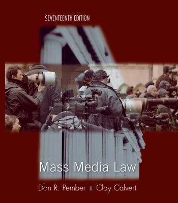Mass Media Law 9780073511979