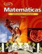 Matematicas Curso 1: Aplicaciones y Conceptos 9780078607875