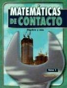 Matematicas de Contacto Curso 1: Algebra y Mas 9780078607202