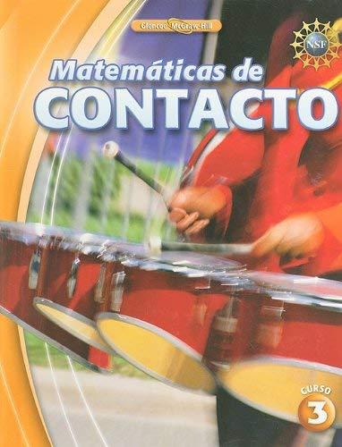 Matematicas de Contacto, Curso 3 9780078916083
