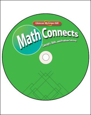 Math Connects, Course 3: Concepts, Skills, and Problems Solving 9780078805592