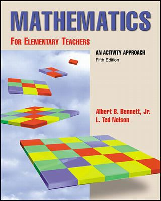 Mathematics for Elementary Teachers: An Activity Approach 9780072326536