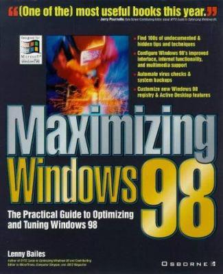 Maximizing Windows 98 9780078825392