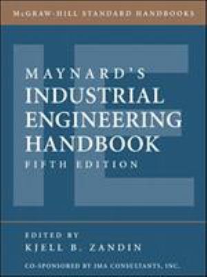 Maynard's Industrial Engineering Handbook 9780070411029