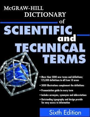 McGraw-Hill Dictionary of Scientific and Technical Terms 9780070423138