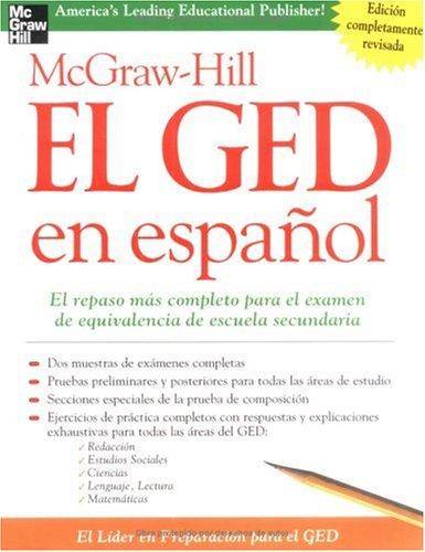 McGraw-Hill El GED En Espanol 9780071435130