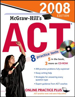 McGraw-Hill's ACT [With CDROM] 9780071493864